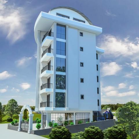 Cтроительство жилого комплекса в районе Тосмур - Фото 4