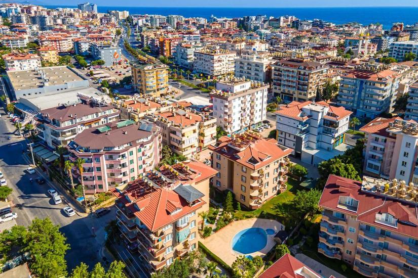 Недорогая квартира 2+1 в европейском районе Оба 700 метров до моря - Фото 3