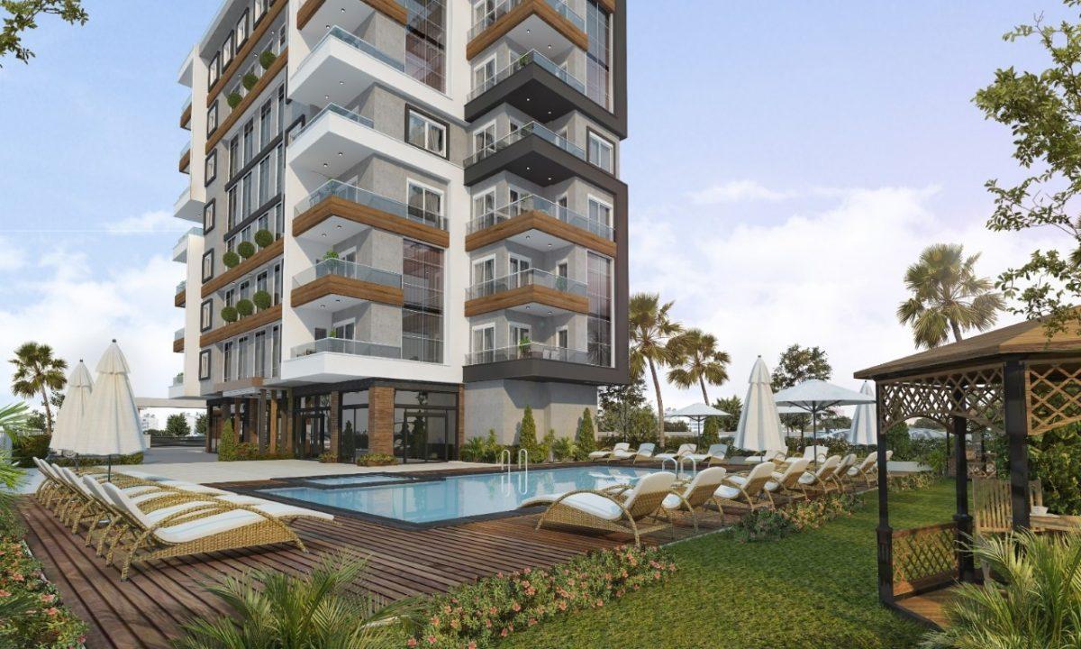Новый проект жилого комплекса в Авсалларе - Фото 3