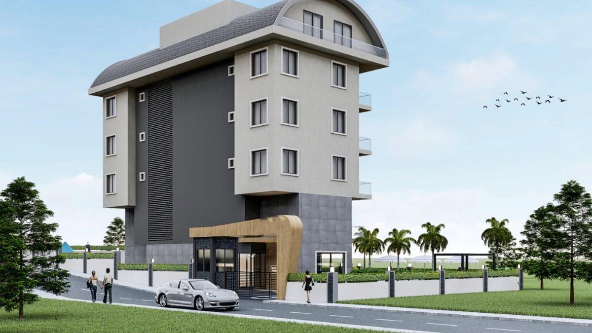 Привлекательный проект жилого комплекса в европейском районе Алании Оба - Фото 3