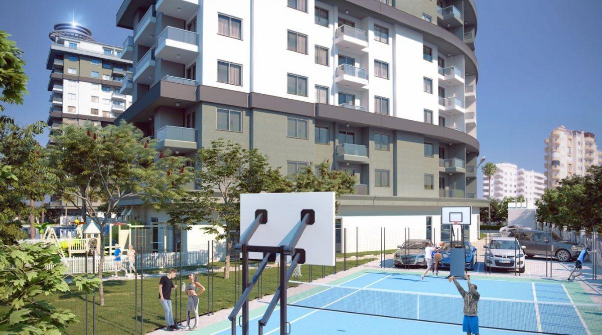 Апартаменты 1+1 в новом ЖК в Махмутларе по привлекательной цене - Фото 4