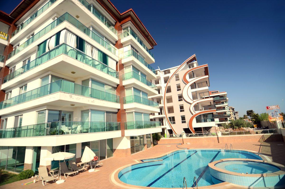 Меблированная квартира 2+1 на первой береговой линии в Кестеле - Фото 3