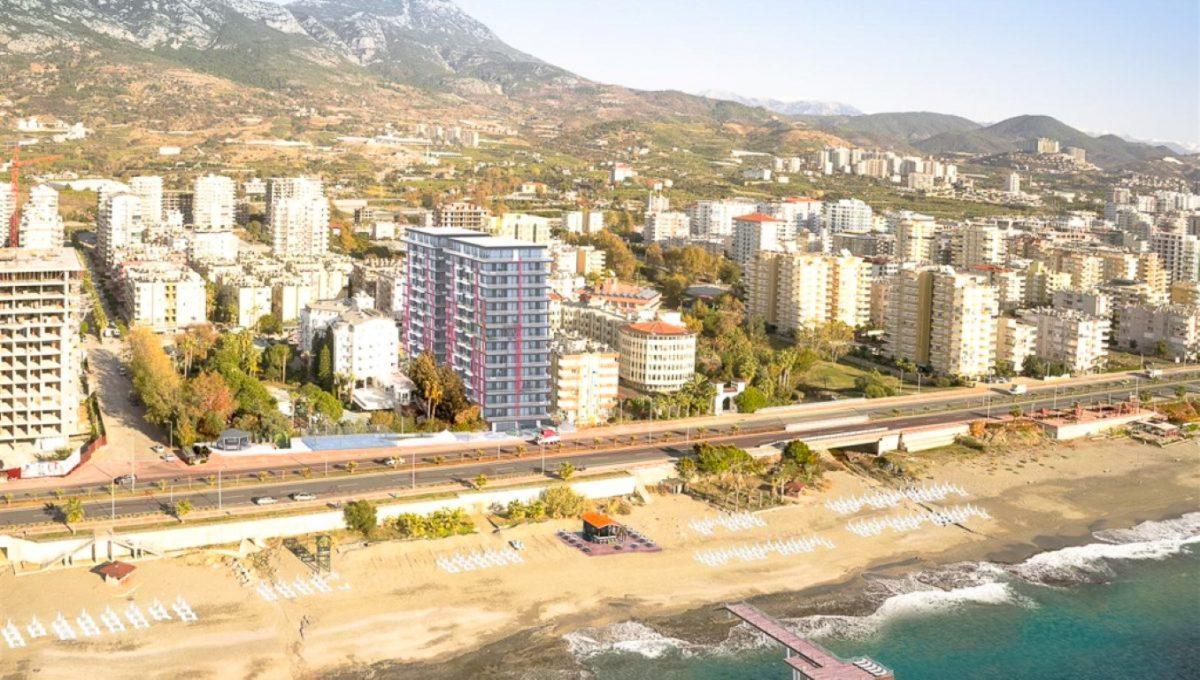Новая квартира 2+1 на первой береговой линии в Махмутларе - Фото 4