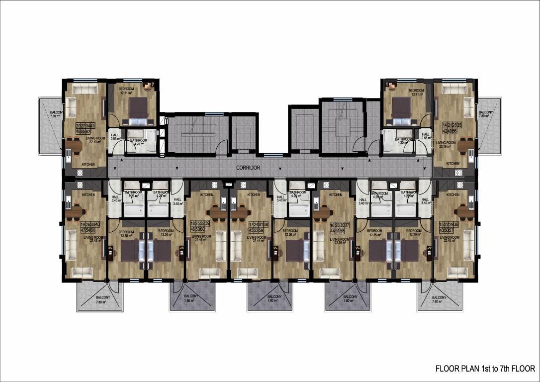 Новый инвестиционный проект на начальном этапе строительства  в районе Демирташ - Фото 24