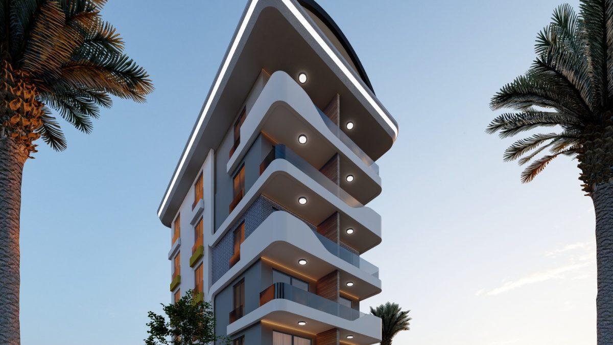 Апартаменты по выгодным ценам от застройщика в центре Алании близко к морю - Фото 2
