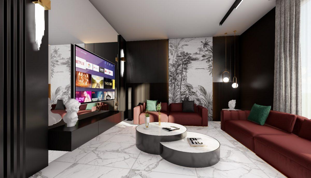 Апартаменты по выгодным ценам от застройщика в центре Алании близко к морю - Фото 17
