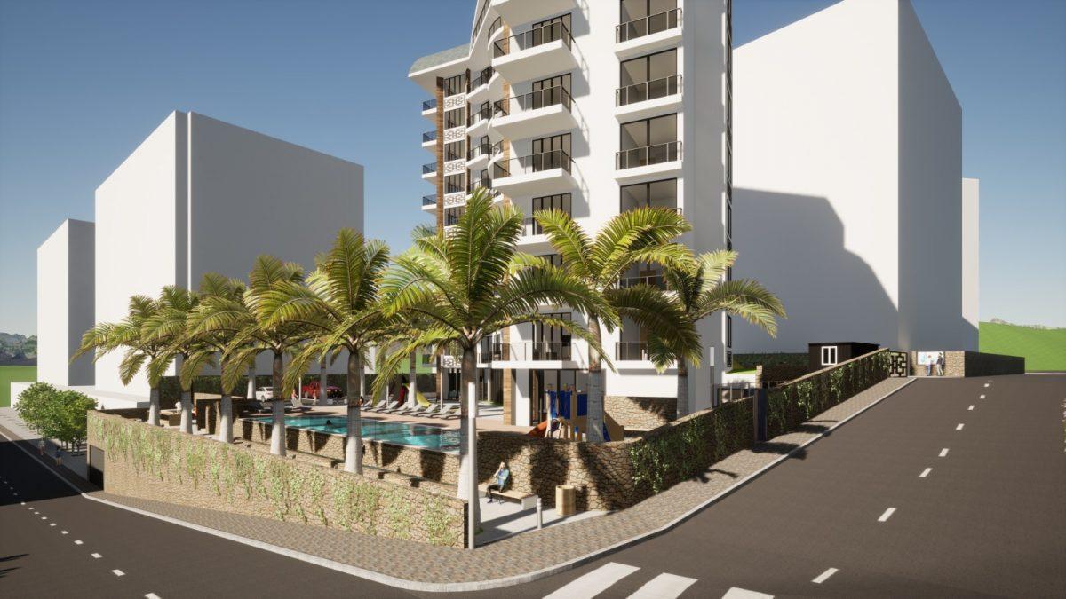 Новый бюджетный комплекс в Махмутларе с видом на море - Фото 2