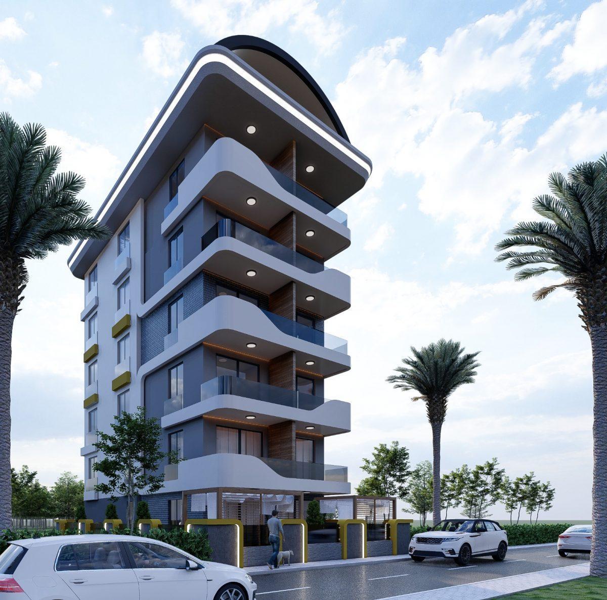 Апартаменты по выгодным ценам от застройщика в центре Алании близко к морю - Фото 1
