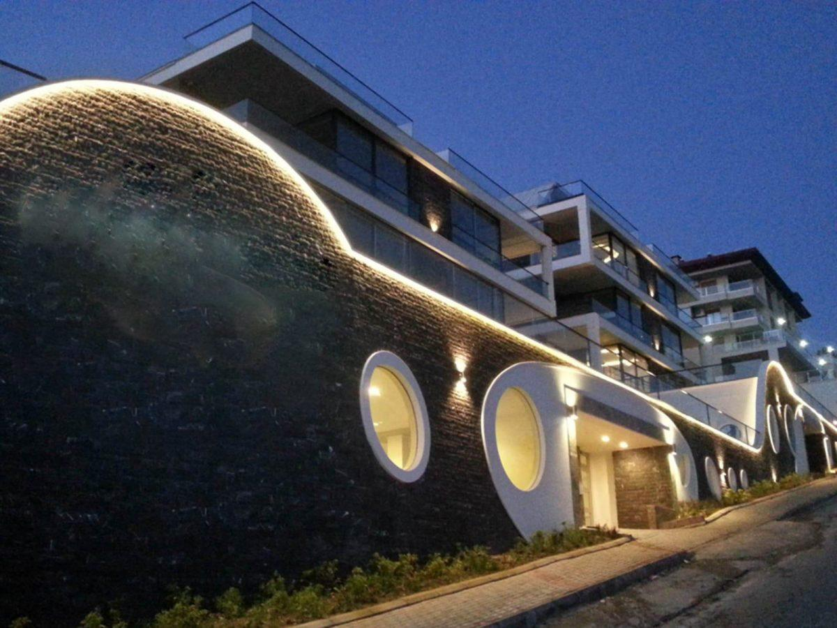 Видовые апартаменты в центре Алании - Фото 2