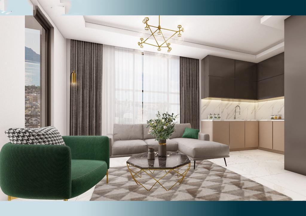 Апартаменты в новом комплексе по привлекательным ценам в Махмутларе - Фото 5