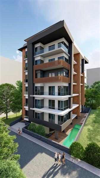 Жилой комплекс класса люкс в курортном районе Махмутлар  - Фото 4
