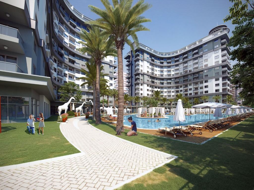 Апартаменты в новом ЖК в Махмутларе - Фото 3