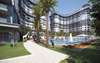 Новые апартаменты 1+1 в Махмутларе