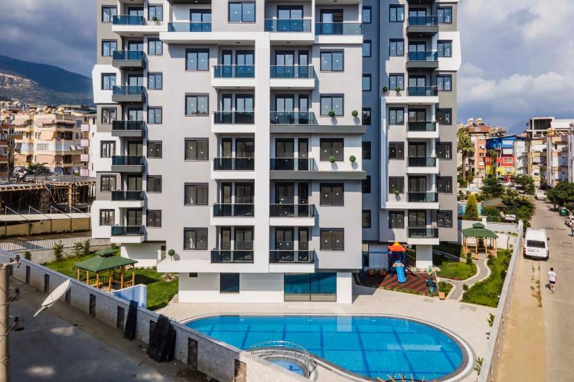 Новая квартира 2+1 в комплексе люкс в центре Алании - Фото 2