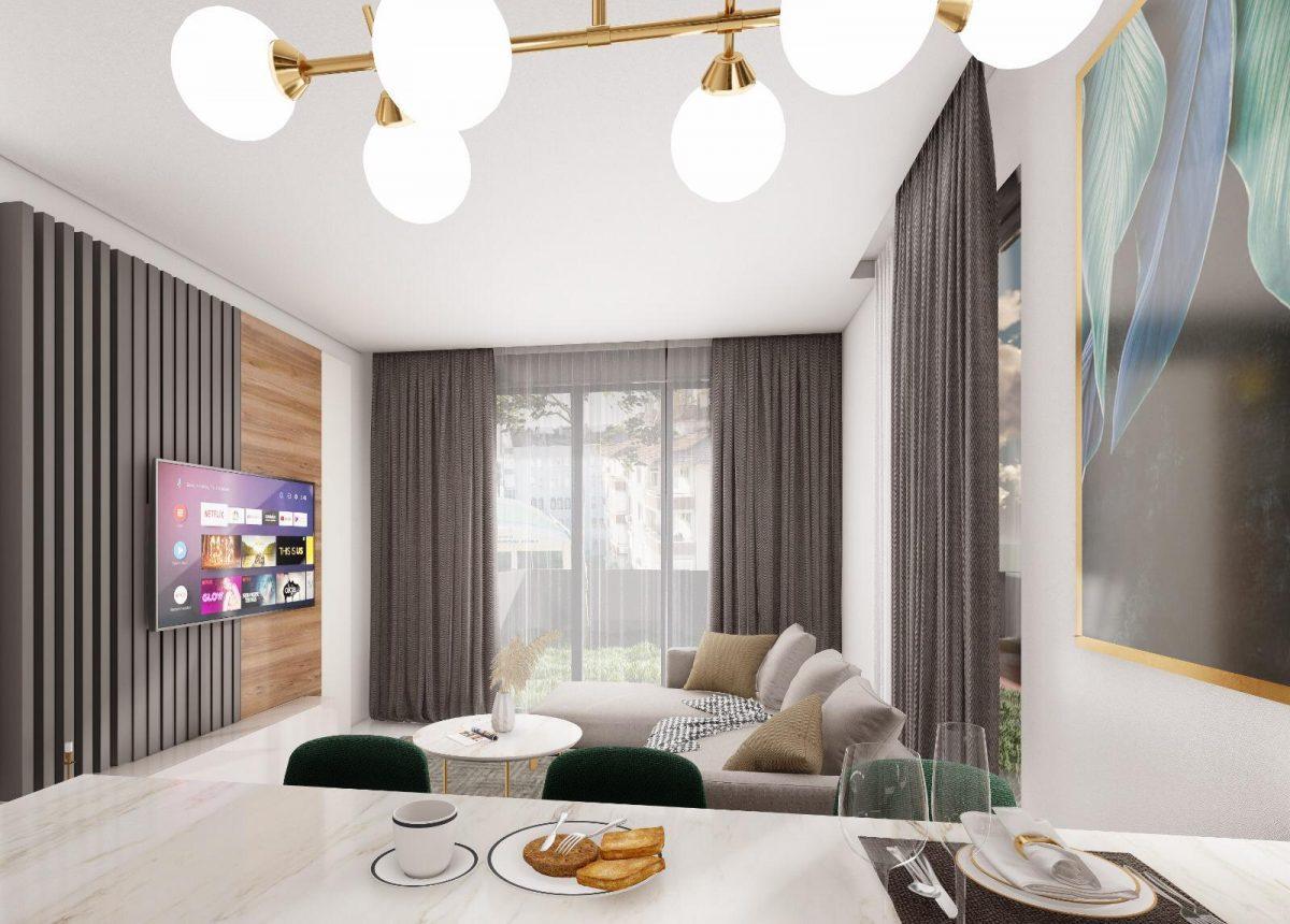 Апартаменты по выгодным ценам от застройщика в центре Алании близко к морю - Фото 6