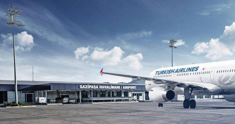 В аэропорту Газипаша появился бесплатный Wi-Fi