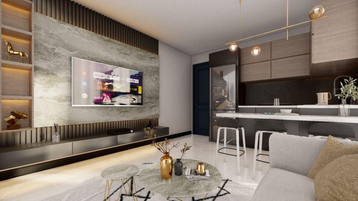 Апартаменты по выгодным ценам от застройщика в центре Алании близко к морю - Фото 18