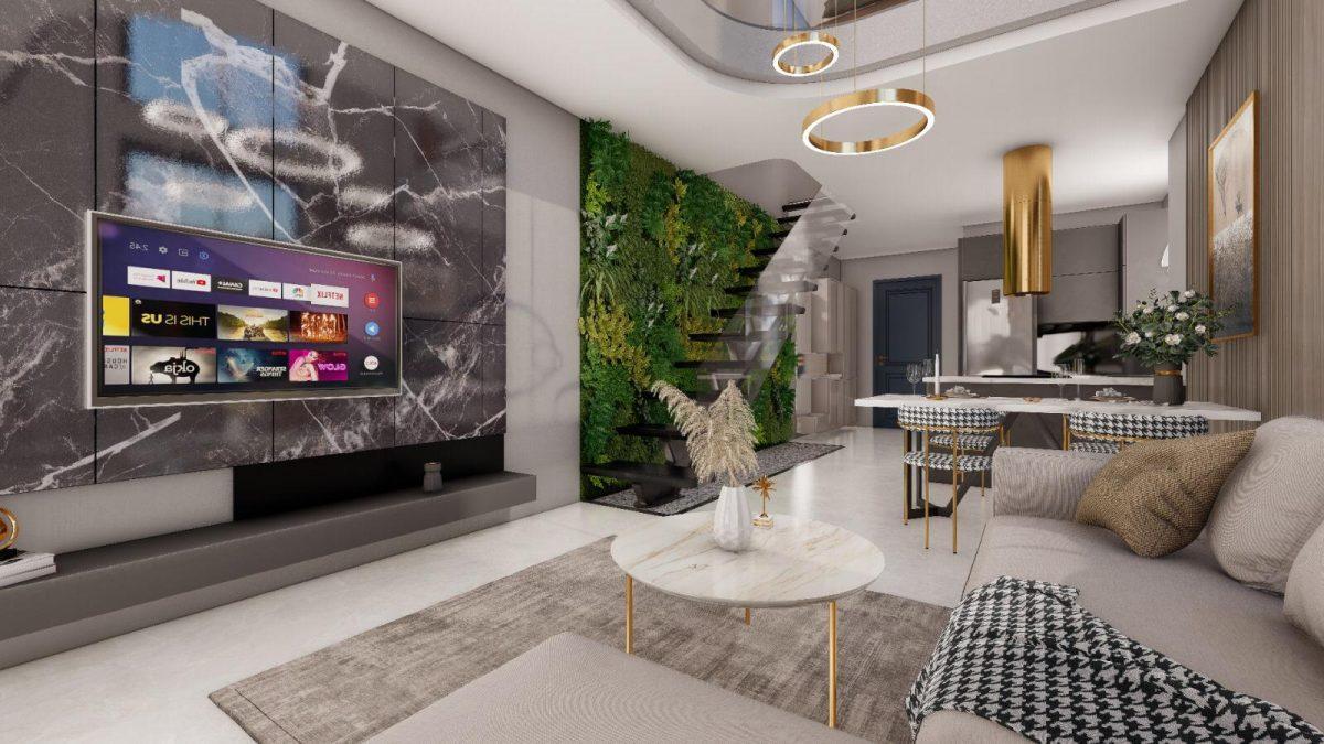 Апартаменты по выгодным ценам от застройщика в центре Алании близко к морю - Фото 11