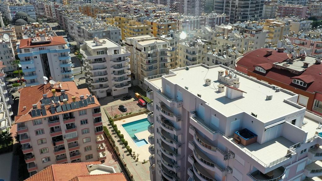 Трехкомнатная квартира на первой береговой в Махмутларе - Фото 2