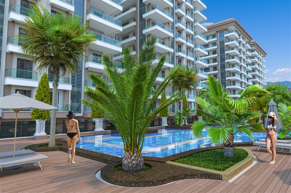 Апартаменты в новом комплексе в Махмутларе  - Фото 4