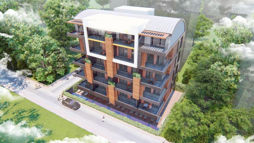 Две квартиры в самом центре города Алании - Фото 5