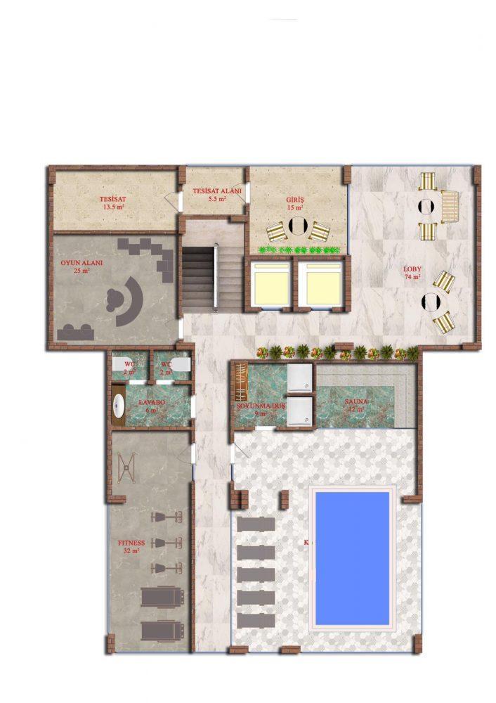 Квартиры в строящемся комплексе района Авсаллар - Фото 15