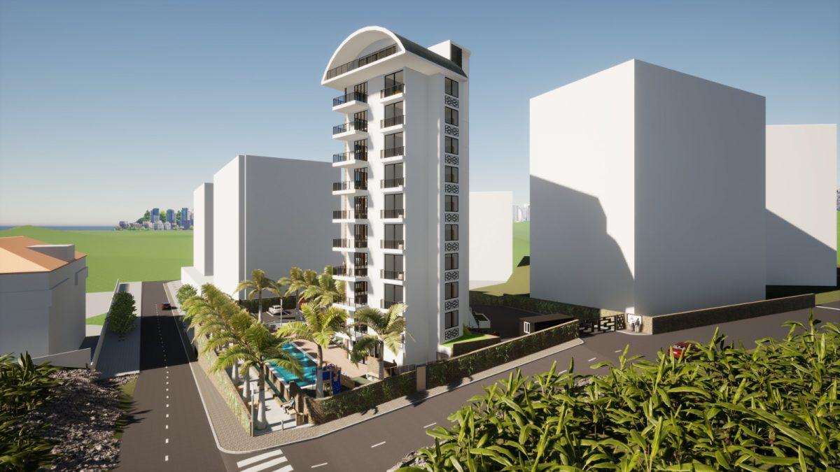 Новый бюджетный комплекс в Махмутларе с видом на море - Фото 3
