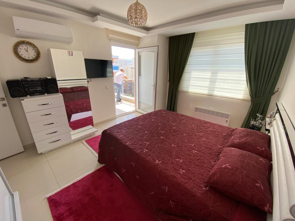 Просторная квартира 1+1 с мебелью и техникой в Махмутларе - Фото 7