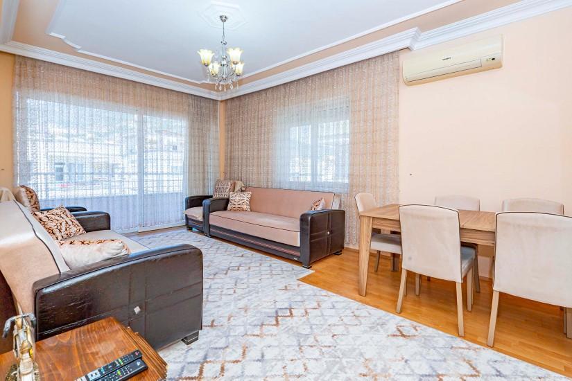 Трёхкомнатная квартира в центре Алании - Фото 14