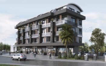 Проект нового жилого комплекса в районе Оба