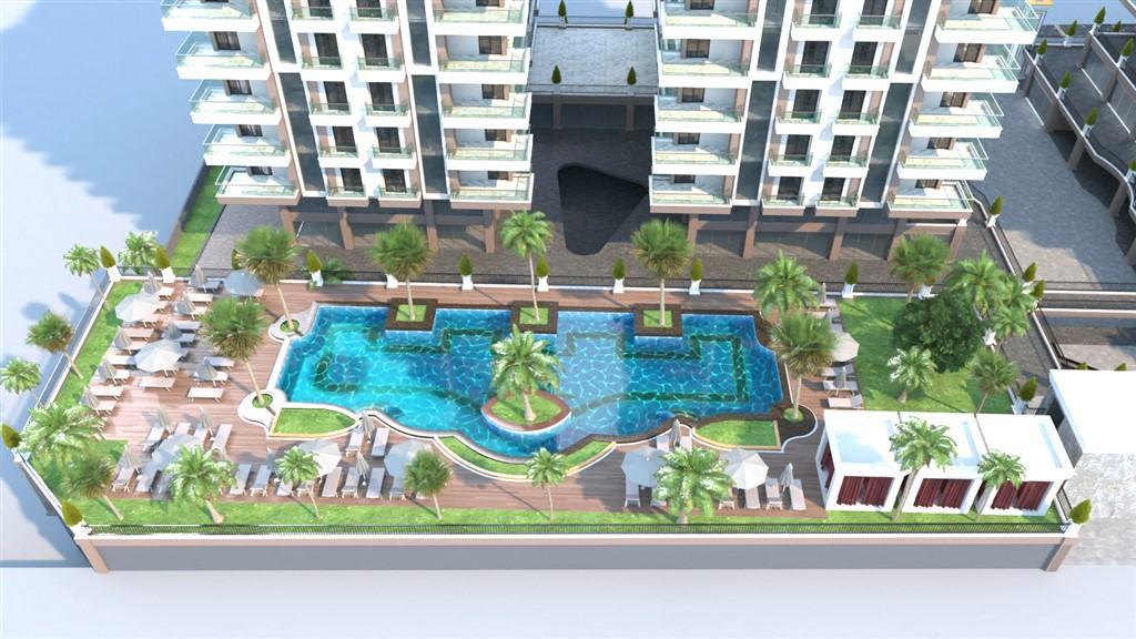 Видовые апартаменты в престижном комплексе Махмутлара - Фото 6