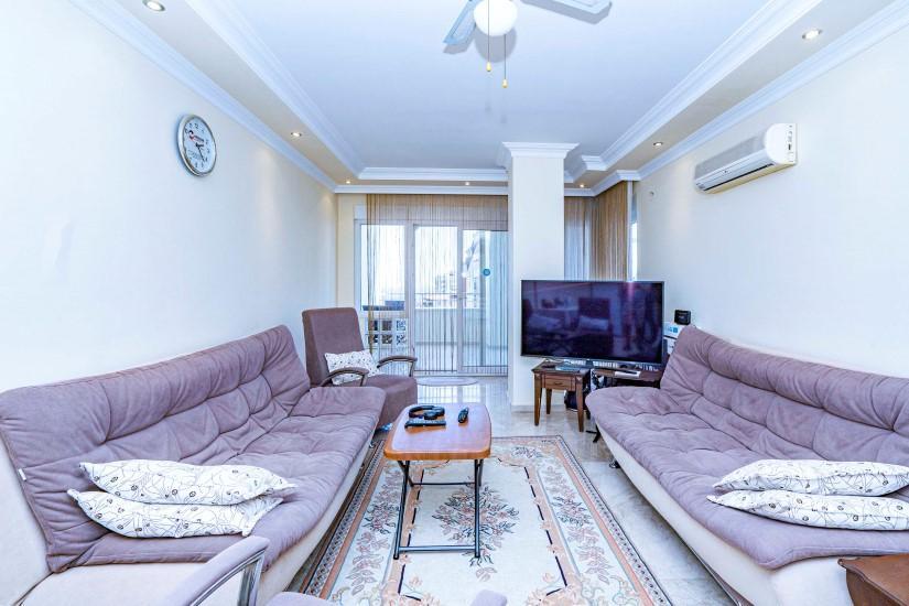 Просторная меблированная квартира 2+1 в Джикджилли - Фото 12
