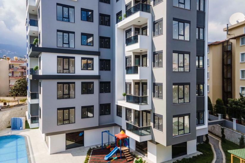 Новая квартира 2+1 в комплексе люкс в центре Алании - Фото 5