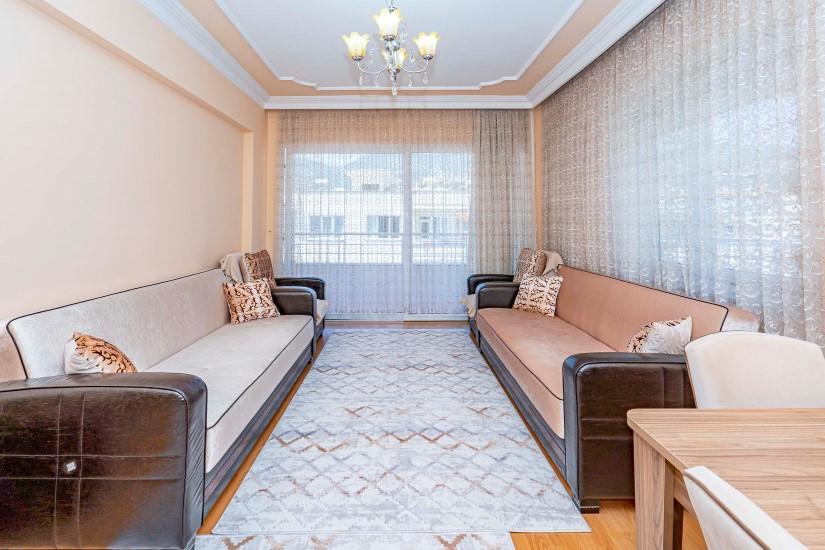 Трёхкомнатная квартира в центре Алании - Фото 15