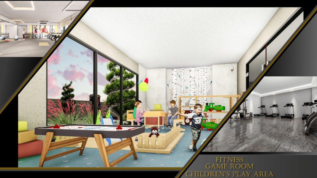 Апартаменты 1+1 в строящемся комплексе в Махмутларе - Фото 10