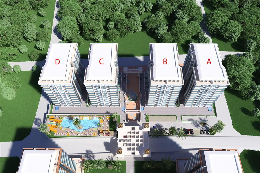 Видовые апартаменты в престижном комплексе Махмутлара - Фото 7