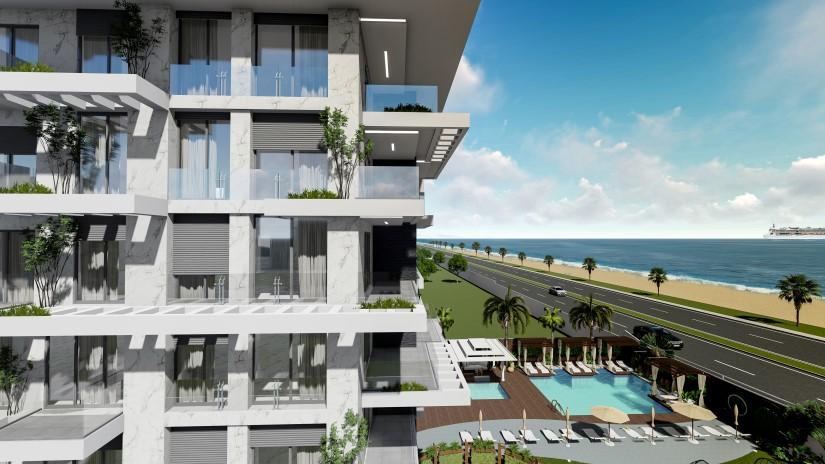 Новые квартиры на первой береговой линии в районе Кестель - Фото 8