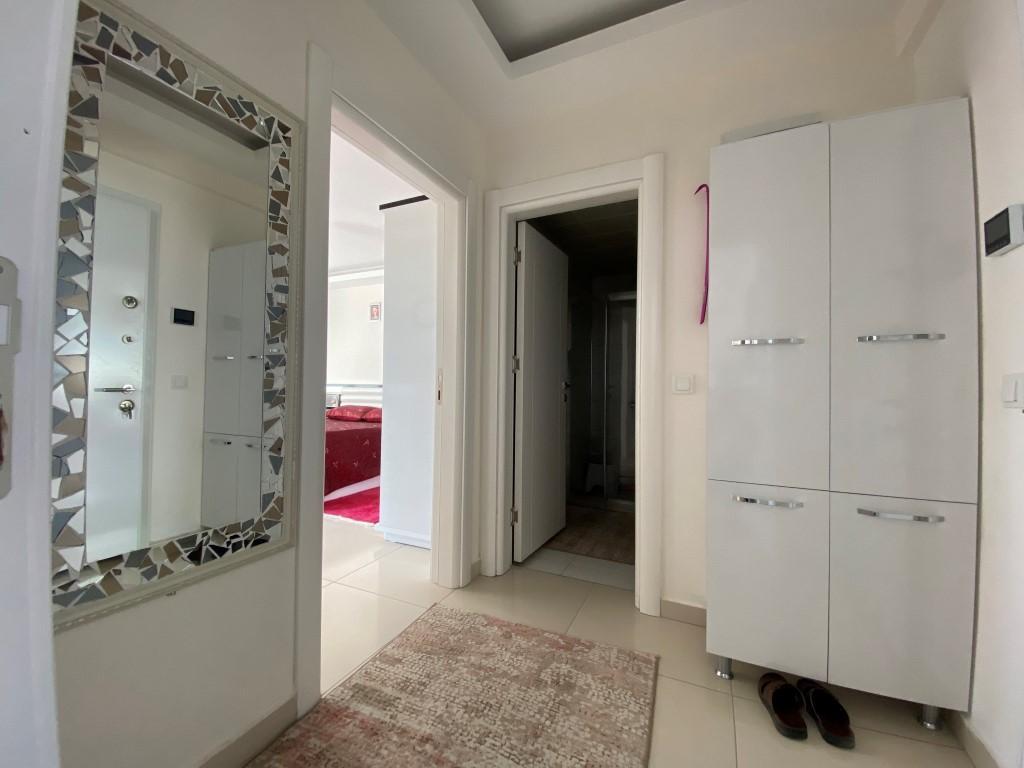 Просторная квартира 1+1 с мебелью и техникой в Махмутларе - Фото 8