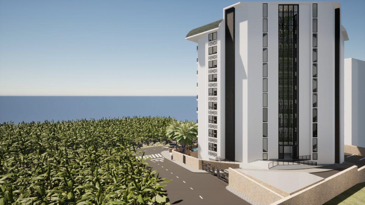 Новый бюджетный комплекс в Махмутларе с видом на море - Фото 5
