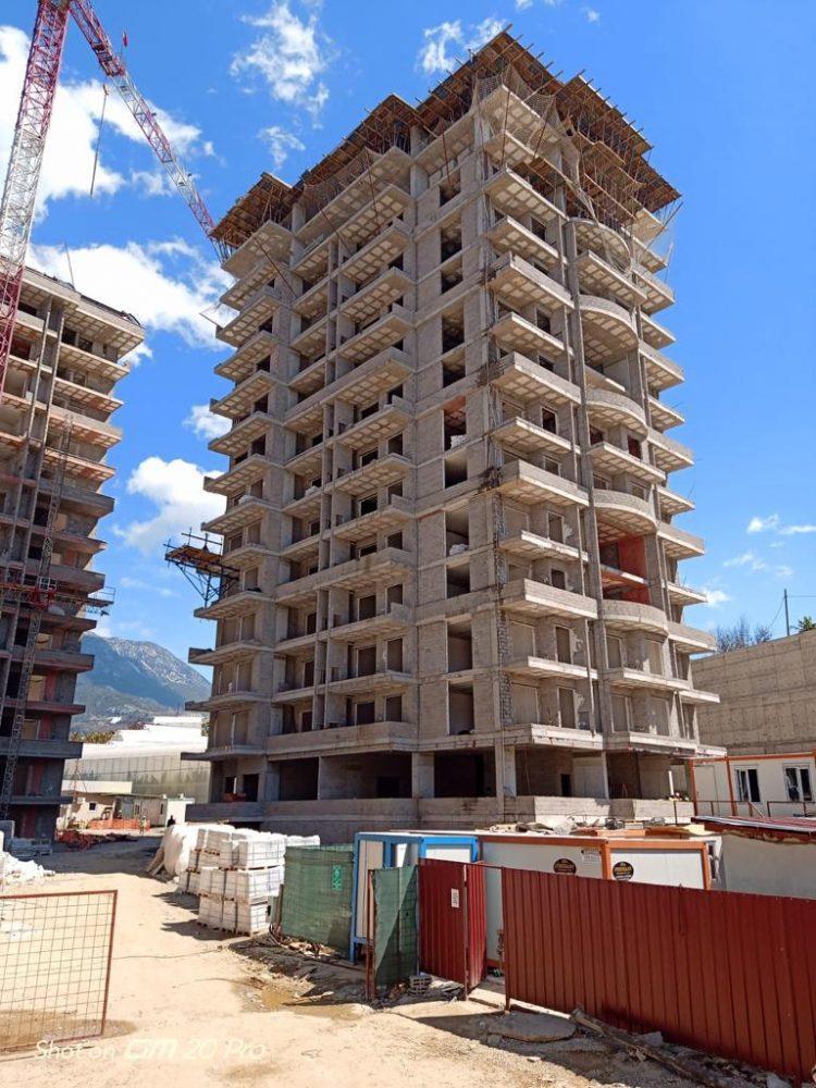 Апартаменты 1+1 в строящемся комплексе в Махмутларе - Фото 18