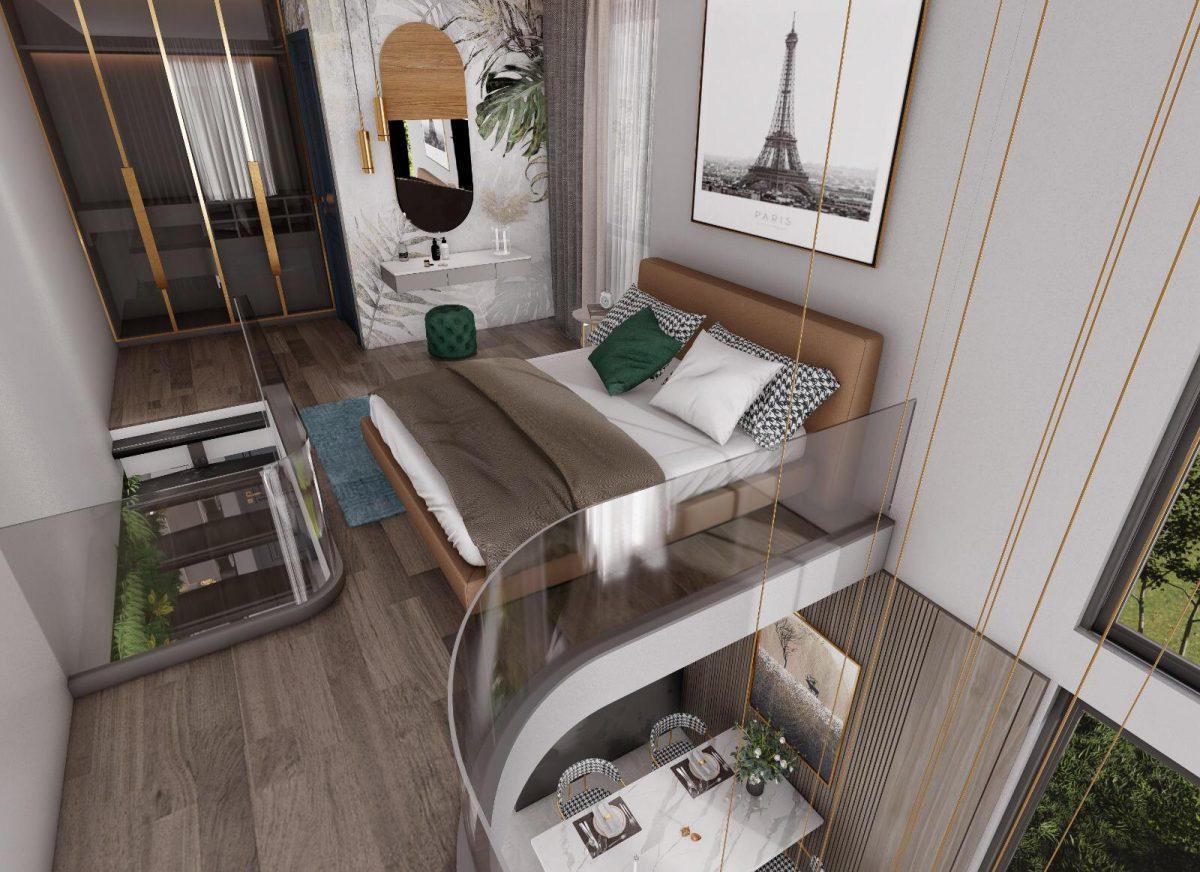 Апартаменты по выгодным ценам от застройщика в центре Алании близко к морю - Фото 13