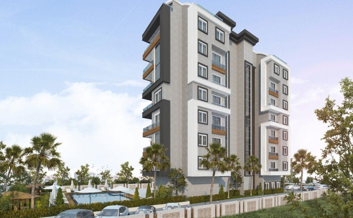 Новый проект жилого комплекса в Авсалларе - Фото 2