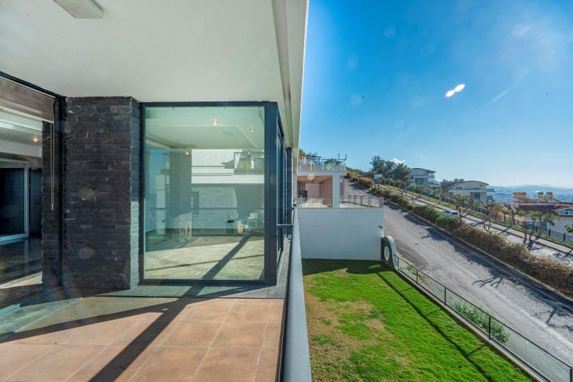 Видовая квартира 2+1 в комплексе люкс в Алании рядом со смотровой площадкой - Фото 16