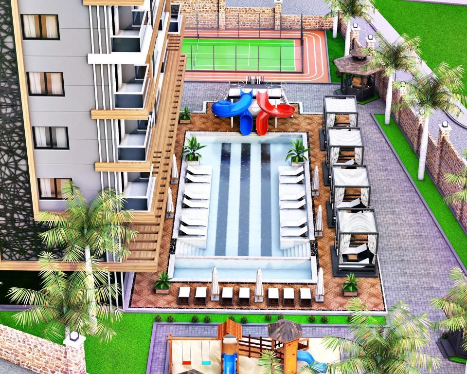 Новый инвестиционный проект в районе Тосмур - Фото 9