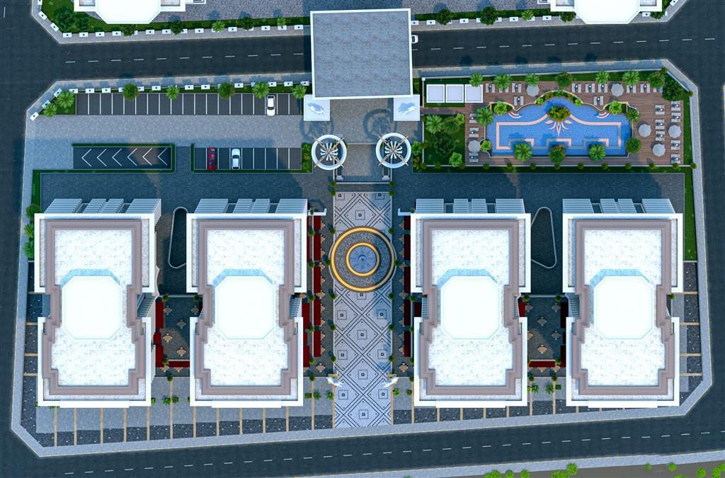 Видовые апартаменты в престижном комплексе Махмутлара - Фото 8