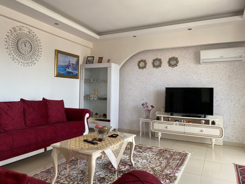 Просторная квартира 1+1 с мебелью и техникой в Махмутларе - Фото 9