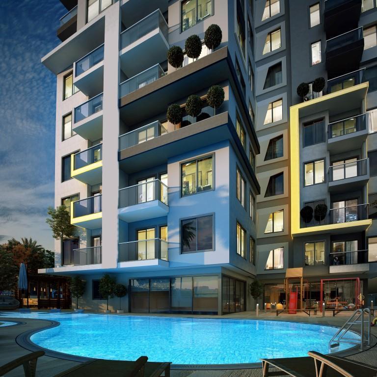 Апартаменты в центре Алании по ценам от застройщика - Фото 3