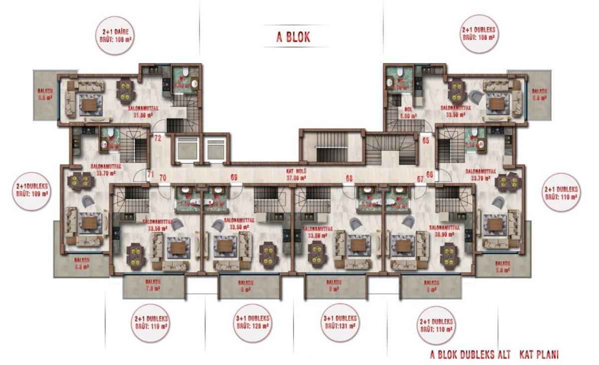 Новые апартаменты по ценам от застройщика в Авсалларе - Фото 34