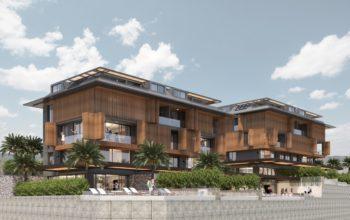 Cтроительство нового жилого комплекса в самом центре города Алании