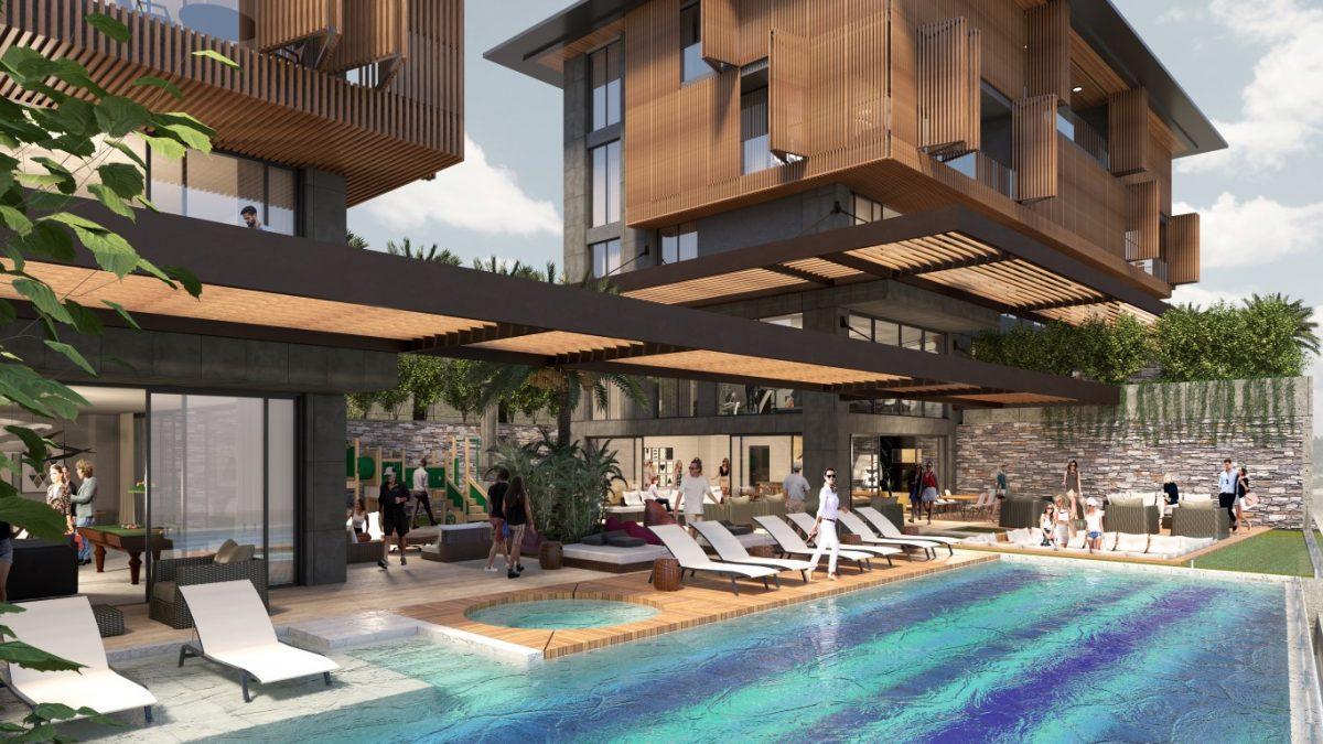 Cтроительство нового жилого комплекса в самом центре города Алании  - Фото 2